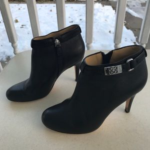 Coach Ankle Boots Heels Size 7.5M BIANCCA Bootie